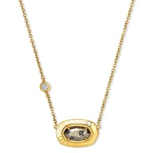 NEW Kendra Scott Anna Gold Pendant Necklace